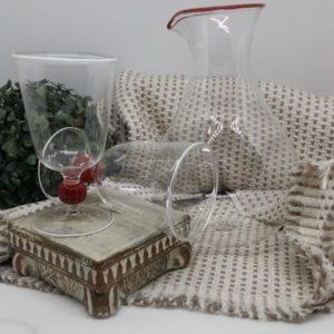 Table Set-Murano Glass