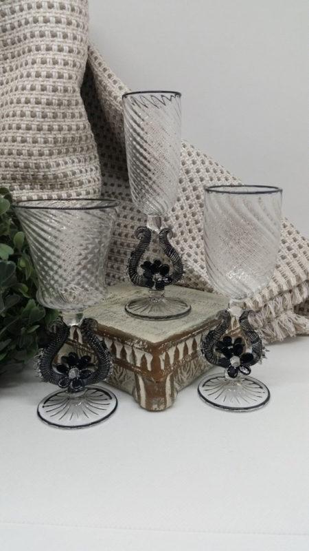 black liquor glass
