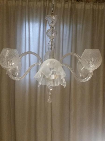 filigree chandelier