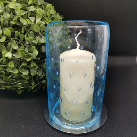 glass candle cover