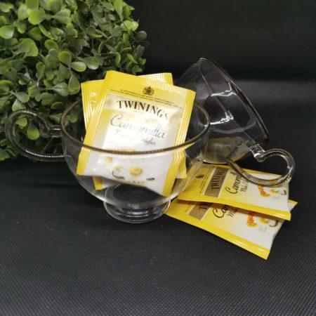 murano glass tea cups