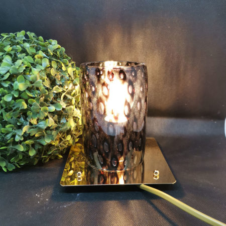 tube glass lamp