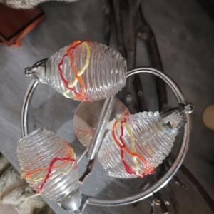 PLAFONIERA 3 LUCI-MURANO GLASS