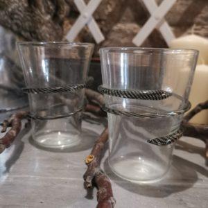 murano drinking glass