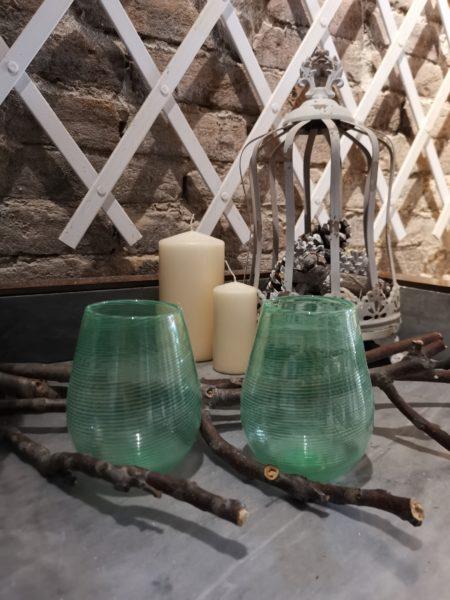 bicchiere murano verde