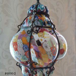 venetian glass lantern