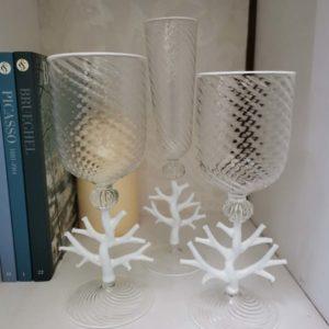 murano glasses set