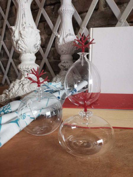 set of murano bottles